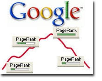 google pagerank down