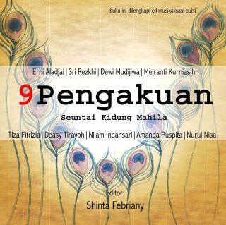 Cover Buku Antologi Puisi 9 Pengakuan